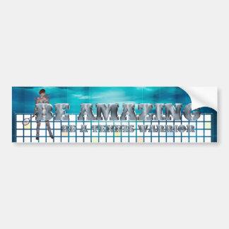 TOP Tennis Warrior Bumper Sticker