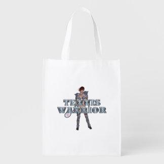 TOP Tennis Warrior Reusable Grocery Bag