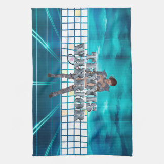 TOP Tennis Warrior Tea Towel