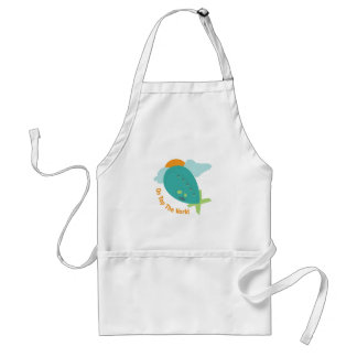 Top The World Aprons