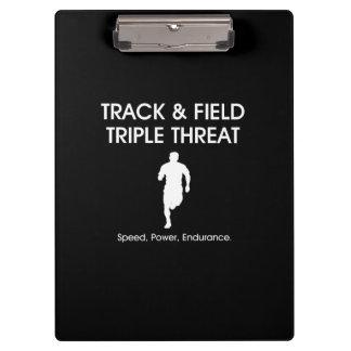 TOP Track Triple Threat Clipboard