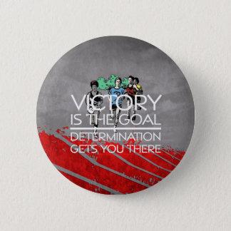 TOP Track Victory Slogan 6 Cm Round Badge