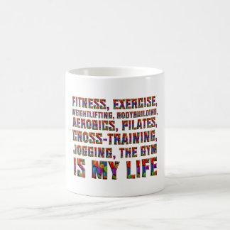 TOP Training Is My Life Coffee Mug