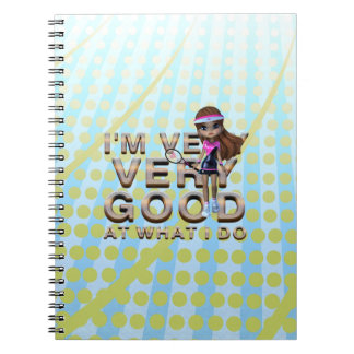TOP Very Good at What I Do, Tennis Notebooks