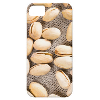 Top view of a group of salty pistachios iPhone 5 case