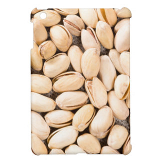 Top view of a lot of salty pistachios iPad mini cover