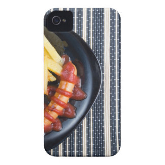Top view of the Russian national dish iPhone 4 Case