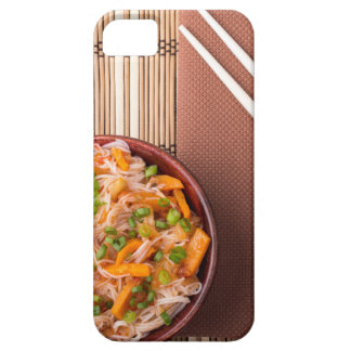 Top view on a portion of rice vermicelli hu-teu iPhone 5 cover