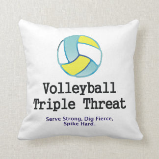 TOP Volleyball Triple Threat Cushion