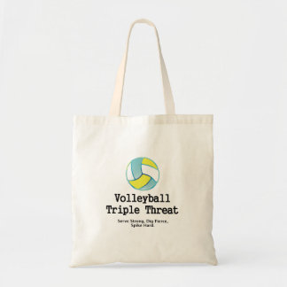 TOP Volleyball Triple Threat Tote Bag