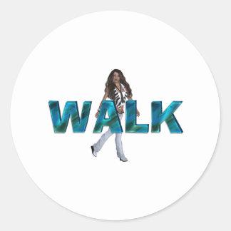 TOP Walk Round Sticker