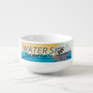TOP Water Ski Soup Mug