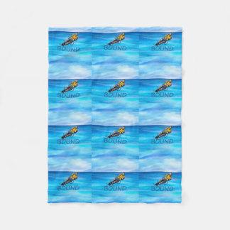 TOP Water Skiing Fleece Blanket