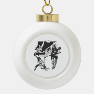 TOP Women's Volleyball Ceramic Ball Decoration