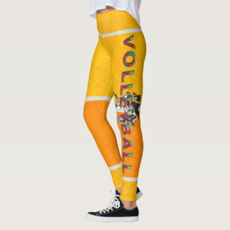 TOP Women's Volleyball Leggings