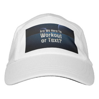 TOP Workout or Text Hat