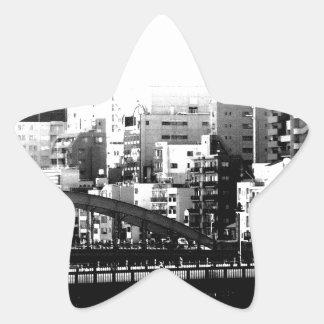 top world modern art star sticker