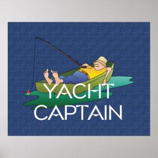 TOP Yacht Captain Fun Print