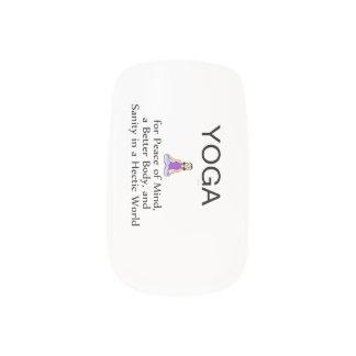 TOP Yoga Slogan Minx® Nail Wraps