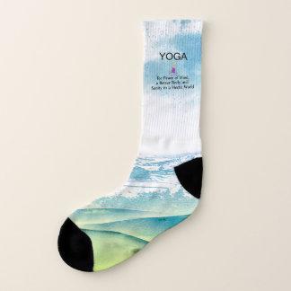 TOP Yoga Slogan Socks