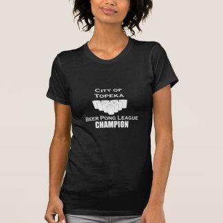 Topeka Beer Pong Champion T-shirts