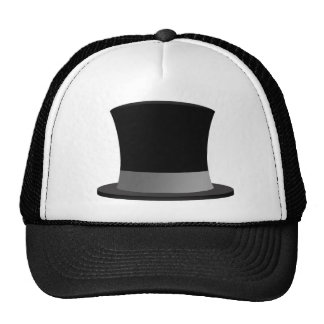 Tophat Trucker Hat - Tuxedo-Casual Style