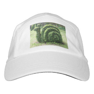 Topiary snail fun happy gardening hat