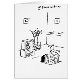Topical Drone Greetings Card