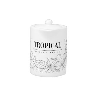 Topical Fruits And Plants Logo