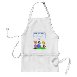 topless beach toddler attacked apron