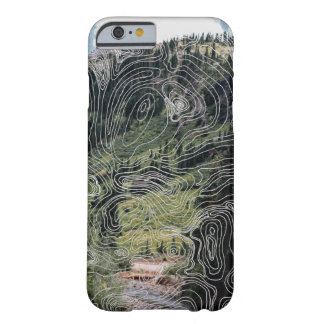 Topograph Map Mountain Adventure Travel Phone Case
