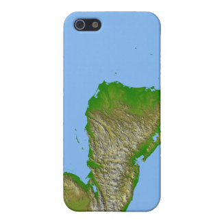Topographic view of Central America Case For iPhone 5/5S