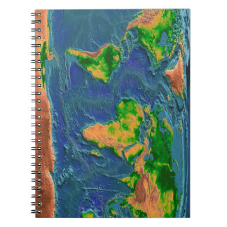 Topographical Earth Notebooks