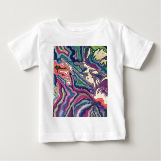 Topographical Tissue Paper Art I Baby T-Shirt