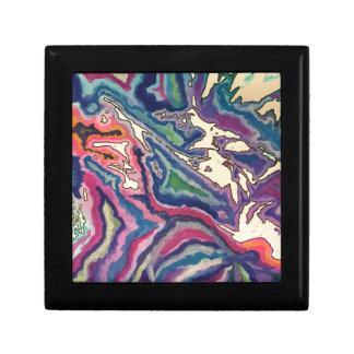 Topographical Tissue Paper Art I Gift Box