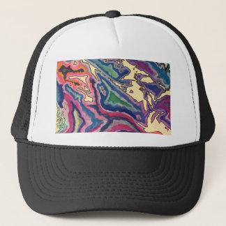 Topographical Tissue Paper Art I Trucker Hat