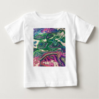 Topographical Tissue Paper Art II Baby T-Shirt