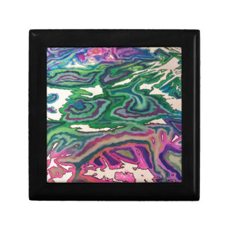 Topographical Tissue Paper Art II Gift Box