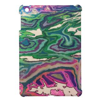 Topographical Tissue Paper Art II iPad Mini Cases