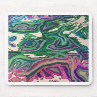 Topographical Tissue Paper Art II Mouse Pad
