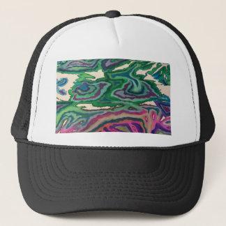 Topographical Tissue Paper Art II Trucker Hat