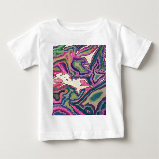 Topographical Tissue Paper Art III Baby T-Shirt