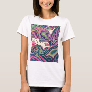 Topographical Tissue Paper Art III T-Shirt