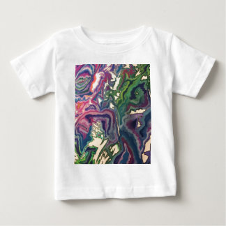 Topographical Tissue Paper Art IV Baby T-Shirt