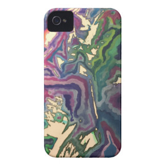 Topographical Tissue Paper Art IV Case-Mate iPhone 4 Case