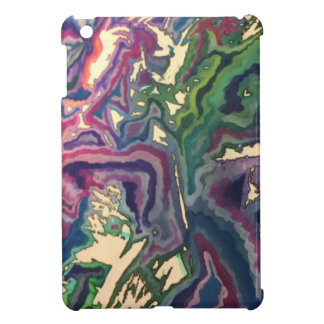 Topographical Tissue Paper Art IV Cover For The iPad Mini