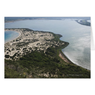 Topography of bay and lagoon near Pilos, 2 Card