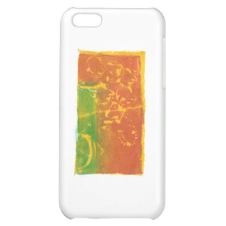 Toppling Flowers Cover For iPhone 5C