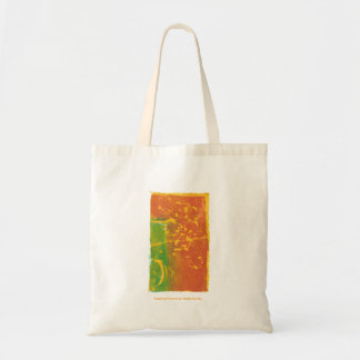 Toppling Flowers Tote Bags