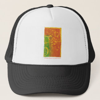 Toppling Flowers Trucker Hat